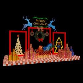 圣诞美陈布景3d模型