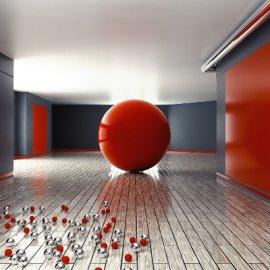 C4D球体模型