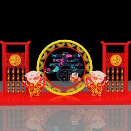2019春节街景装饰美陈