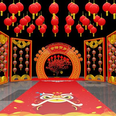 2019猪年春节创意美陈装饰设计