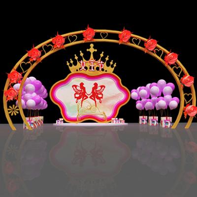 三八节女王节商场门头美陈装饰