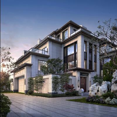 绍兴阳光城现代主义风格4层别墅