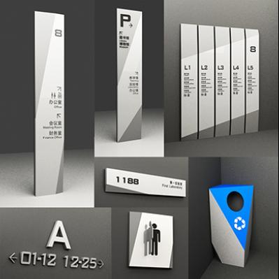 现代博物馆标识导视系统设计