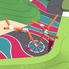 儿童活动场地系列-13 户外游乐设备亲子攀爬