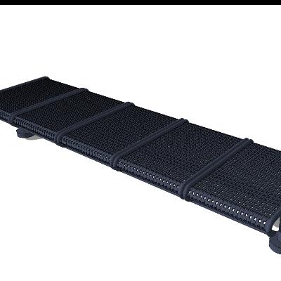 候车室不锈钢材质镂空座椅SU模型素材