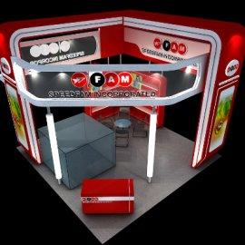 高科技展厅展台设计