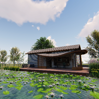 厕所建筑模型