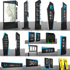 商场导视标识商业导视系统写字楼指示牌