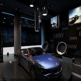 宝马汽车展厅设计