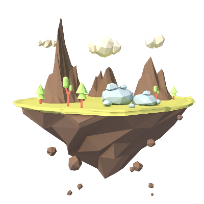 低面景观模型