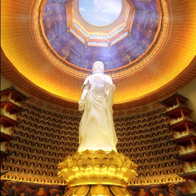 现代佛寺佛像改造项目源文件MAX效果图