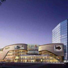 现代主义风格20层龙湖商业街购物中心商业综合体