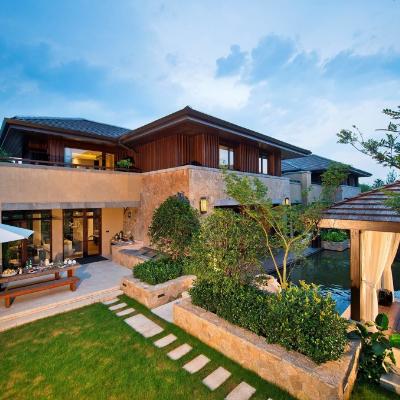 现代主义风格2层别墅