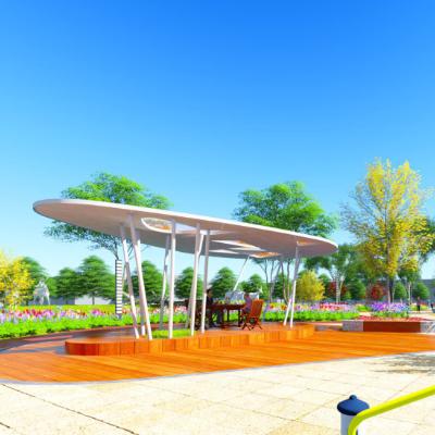 现代主义风格园艺广场公园