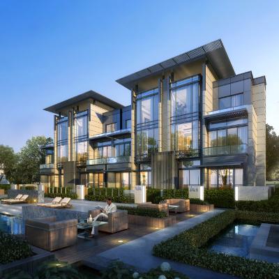 现代主义风格14层商用住宅小区