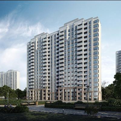 现代主义风格18层住宅