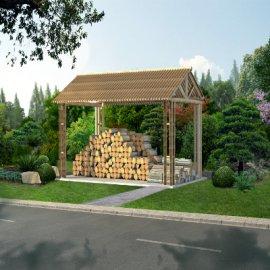景区文化柴房