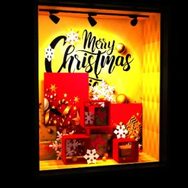 橱窗  圣诞