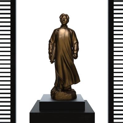 青年毛泽东雕像摆件