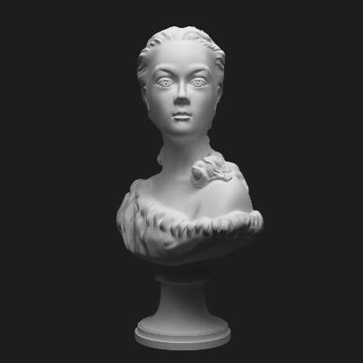 现代女性石膏雕塑摆件