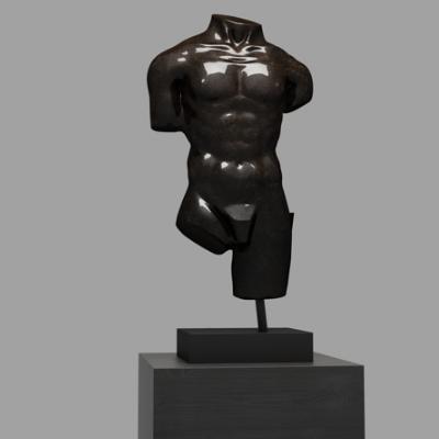 现代人物雕塑装饰摆件