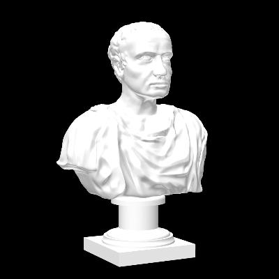 现代石膏头像雕塑