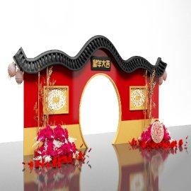 春节 鼠年美陈 院墙