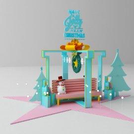 圣诞 美陈  大型户外
